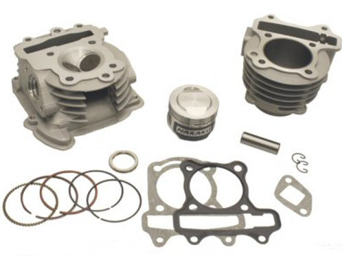 Naraku 52.4mm Performance Cylinder & Head Kit For QMB139 Engine