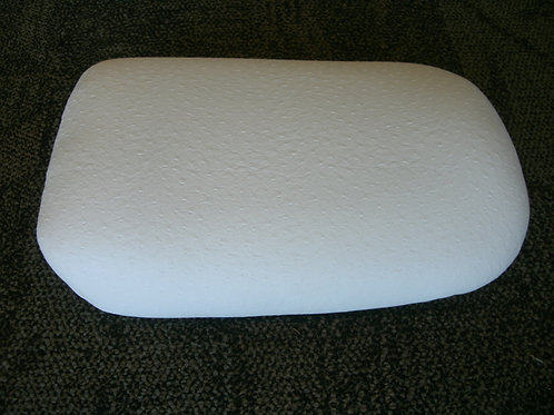 White Ostrich Seat (regular/extended)