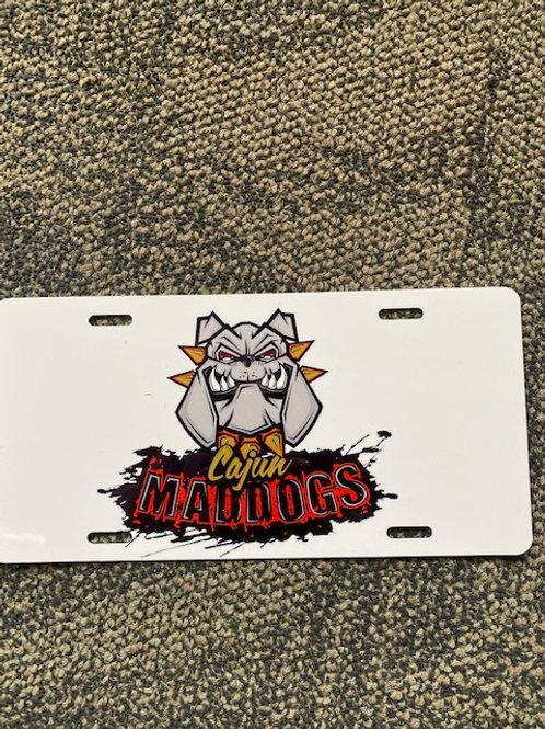 Cajun Maddog's License Plate $19.95