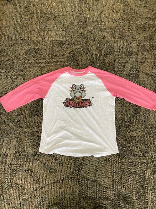 Women's Cajun Maddog's LogoBaseball Shirt $19.95