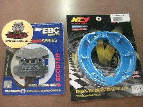 Maddog 150cc Brake Pads and Shoes Upgrade Kit $38.49