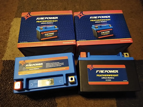 FIRE POWER FEATHERWEIGHT LITHIUM BATTERY 180 CCA HJTX9-FP-IL 12V/36WH     $