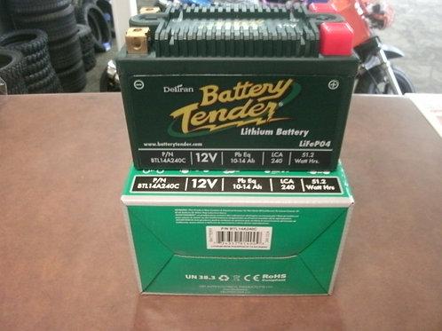 BATTERY TENDER LITHIUM ENGINE START BATTERY 240 CCA