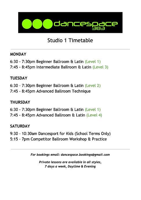 Studio 1 Timetable COVID - Google Docs.j