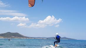 Kitesurfing around Barcelona / Sardinia - ups, I did it myself!
