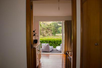 The Cottage boasts lots of indoor outdoor flow.