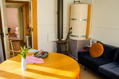 Main room, looking back into hallway.