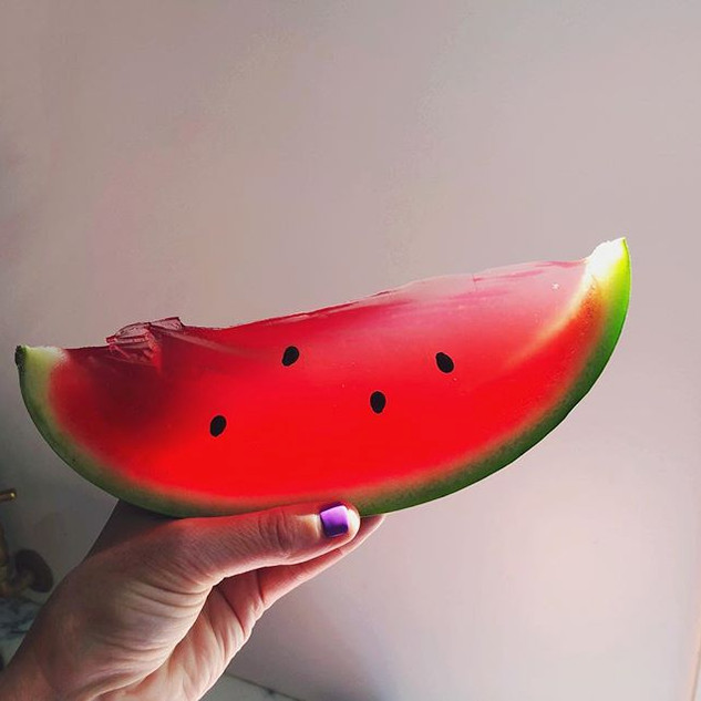 Watermelon was our favourite fruit, but