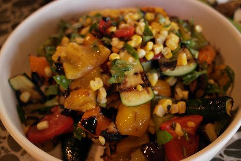 Side Salad Roasted Vegetables
