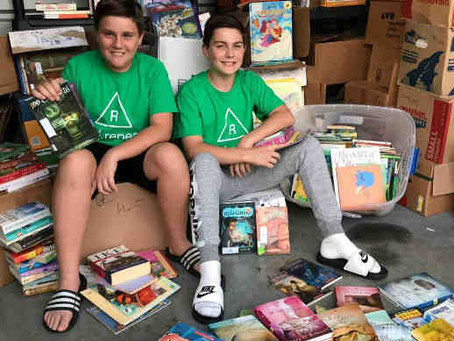 Making a difference through book donations