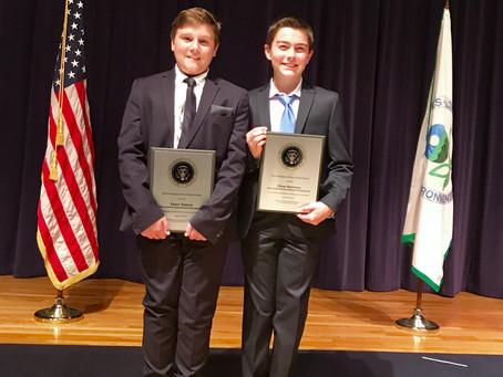 White House, EPA Honor Student Award Winners from Tampa, FL