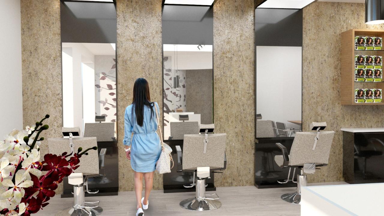 Salón de belleza con SPA