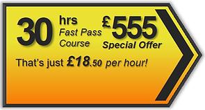 Fast Pass 30hr driving lesson package, Torquay, Paignton, Newton Abbot, Totnes, Brixham