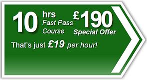 Fast Pass 10hr driving lesson package, Torquay, Paignton, Newton Abbot, Totnes, Brixham