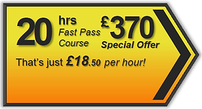 Fast Pass 20hr driving lesson package, Torquay, Paignton, Newton Abbot, Totnes, Brixham