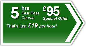 Fast Pass 5hr driving lesson package, Torquay, Paignton, Newton Abbot, Totnes, Brixham