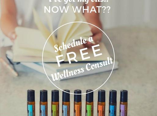 Essential Oils Wellness Consultation