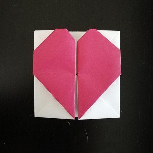 Gratitude Heart Box/ Greeting Card