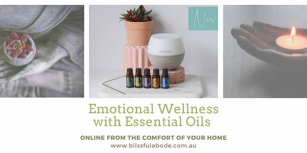 Emotional Wellness with Essential Oils