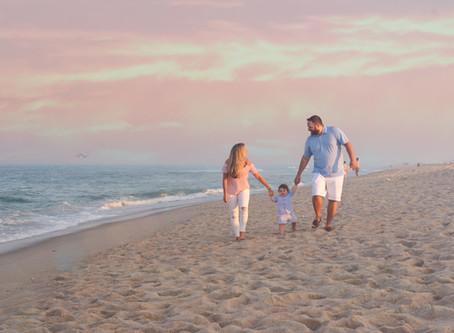 Four Favorite Ocean County Beaches for Family Beach Photos