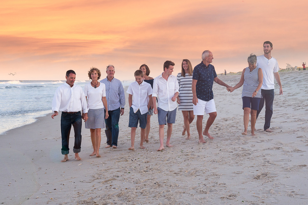 nj family beach photography