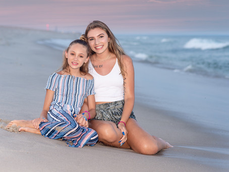 Fun Seaside Park NJ Family Beach Photo Session
