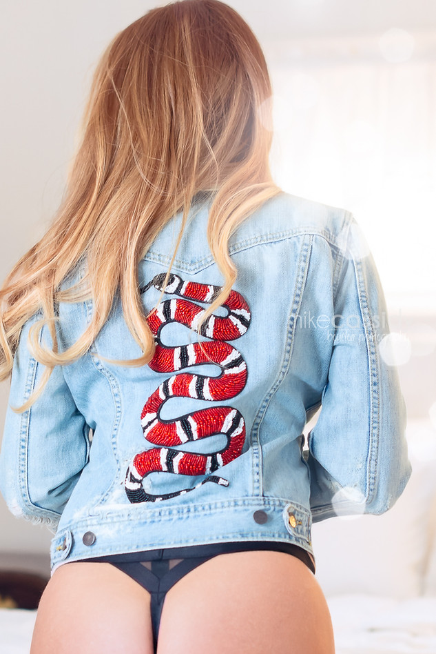 gucci king snake jacket