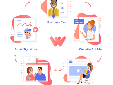 How To Use Warm Welcome Video Chat Bubble & Video Emails For FREE