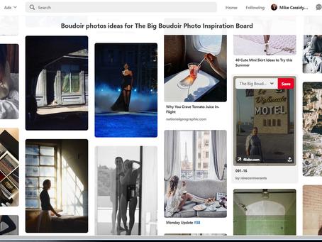 Is It Just Me? Or Is Pinterest Hiding Boudoir Photos?