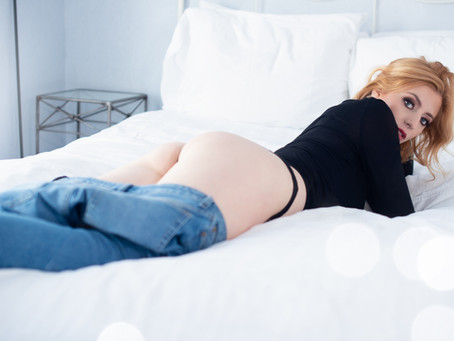 Check Out This Sultry Hackensack, NJ Boudoir Session 👀