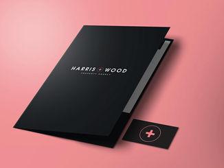 Harris + Wood Branding