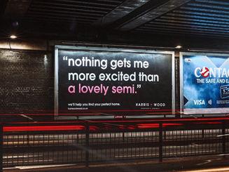 Harris + Wood Billboard