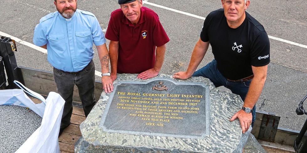 Transporting the RGLI Memorial