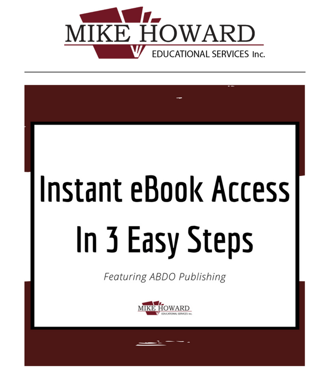 Instant eBook Access In 3 Easy Steps