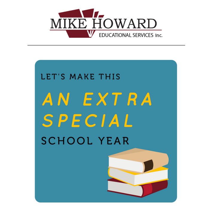 Let's Make This An Extra Special School Year