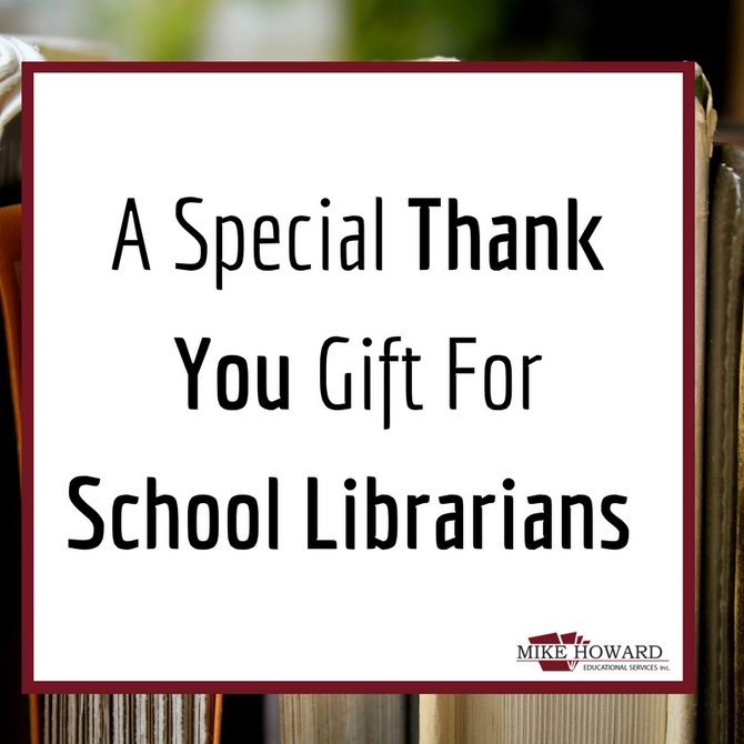 A Special Gift For School Library Month