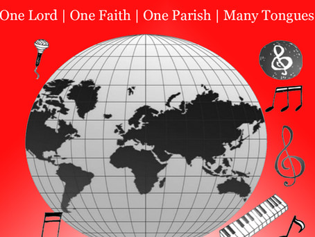 Pentecost Celebration May 22nd at 6:30pm