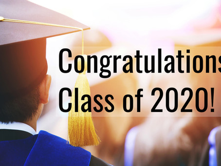 Attention Class of 2020
