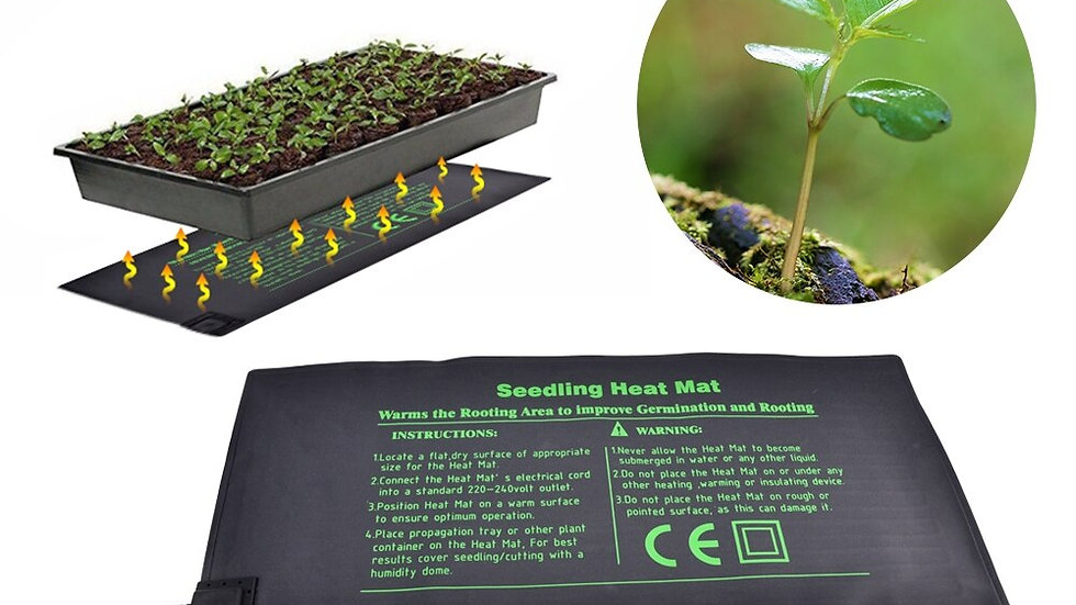 Seedling Heat Mat Electric Germinator Greenhouse  Plant Seed Waterproof