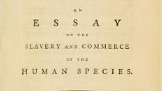 An essay on the slavery and commerce of the human species : The Afr
