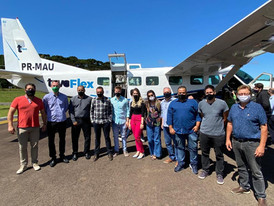 CONTUR HORTÊNSIAS se reúne para apoiar continuidade da Azul Conecta na Região