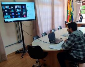 Reunião da AMSERRA define diretrizes regionais no combate ao coronavírus