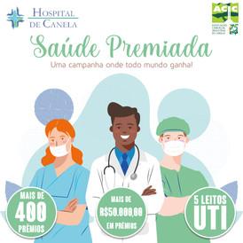 Saúde Premiada distribui mais de 400 prêmios em ação em benefício do Hospital de Caridade de Canela