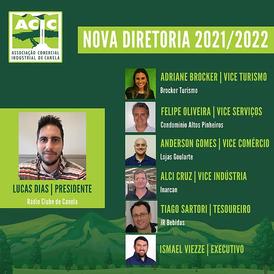 DIRETORIA DA ACIC PARA O BIÊNIO 2021/22