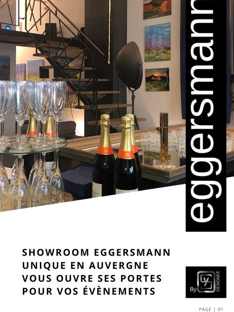 Evènementiel location Showroom Eggersmann