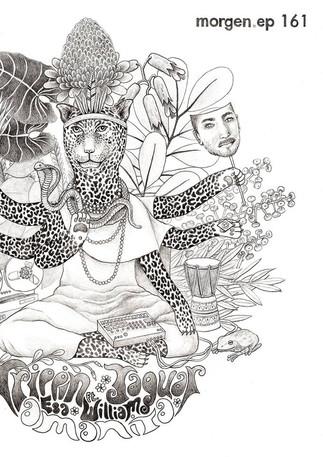 EP Cover Art for Trippin' Jaguar