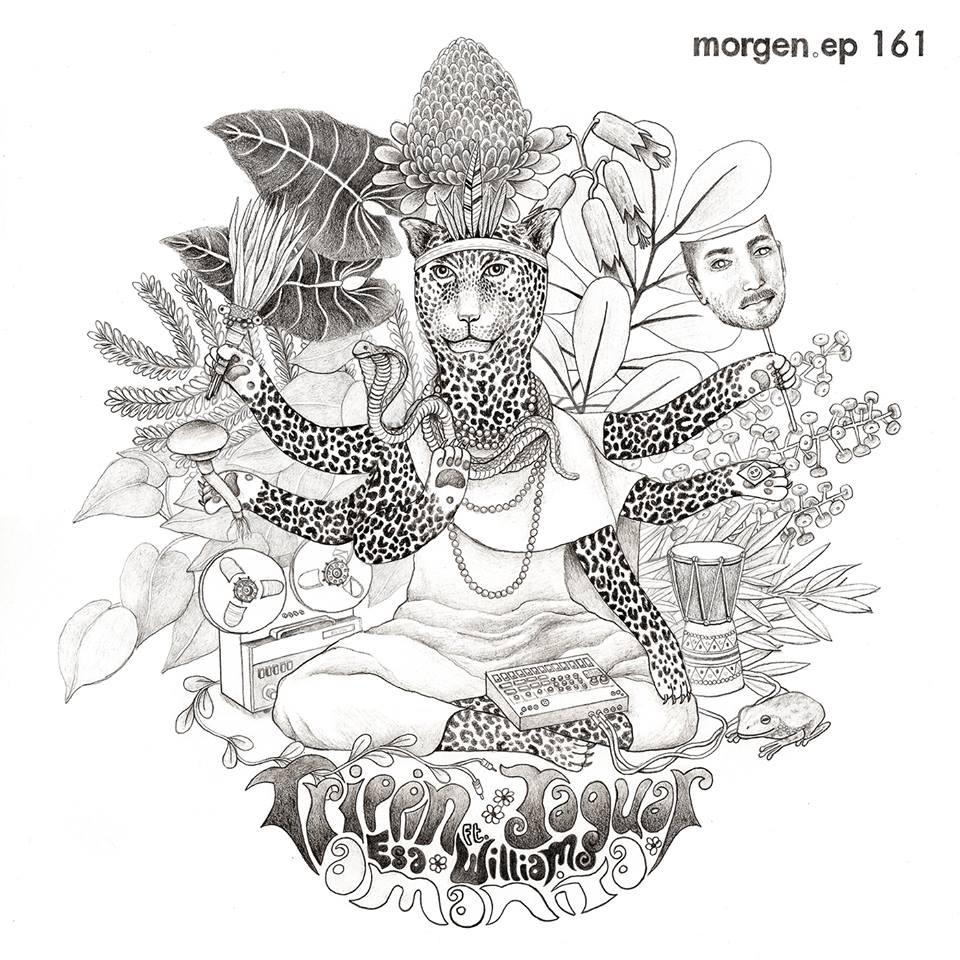 Amanita - Trippin Jaguar EP cover