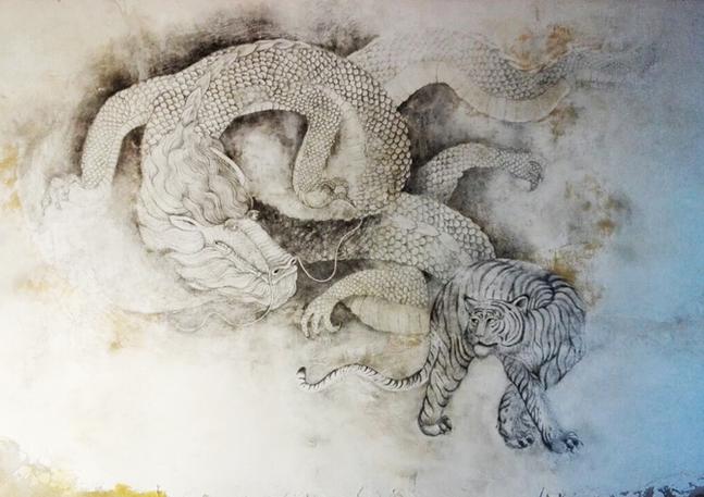 Mural for Fou Fow Ramen