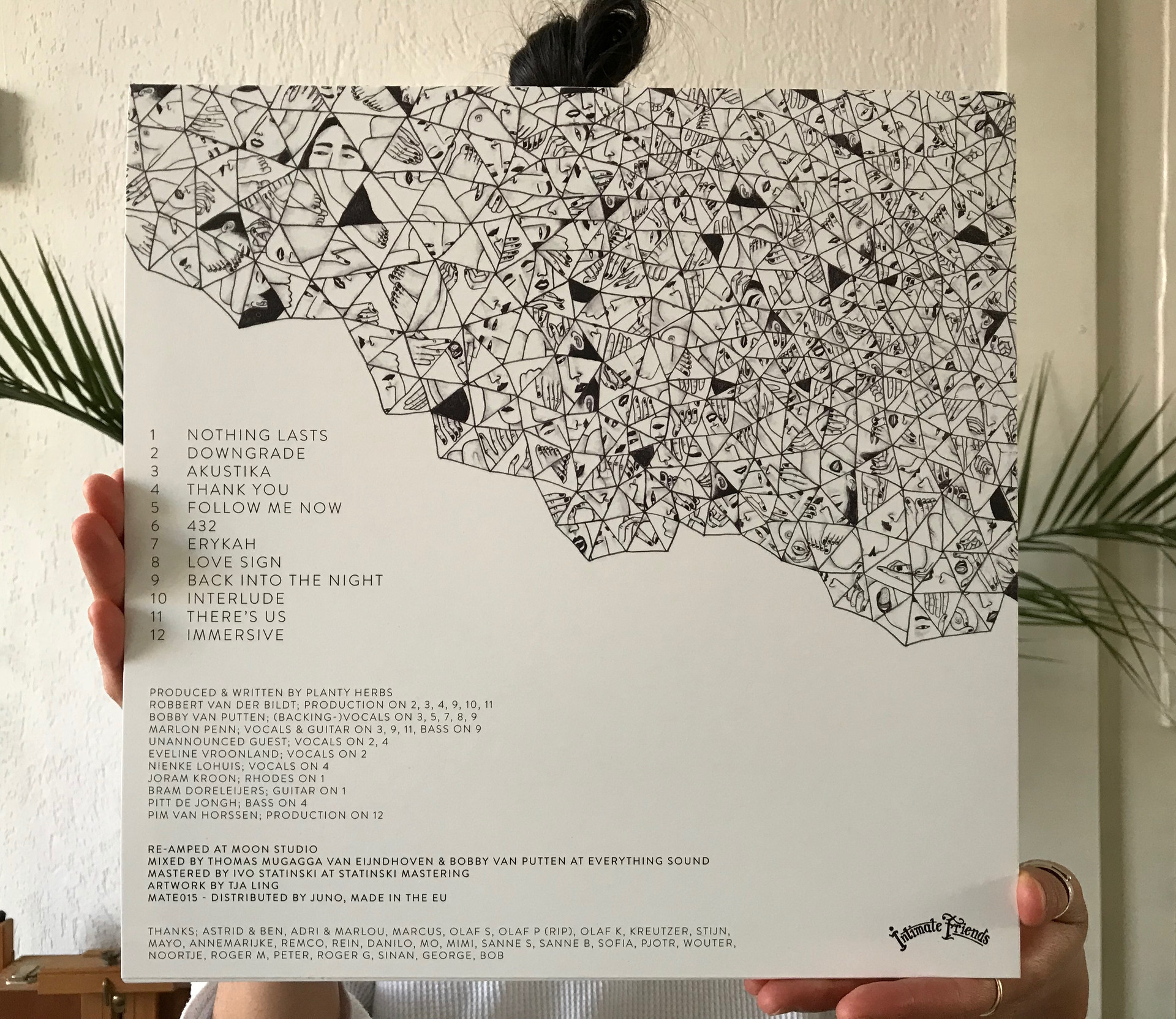 Come into Knowledge - Planty Herbs  Vinyl Cover