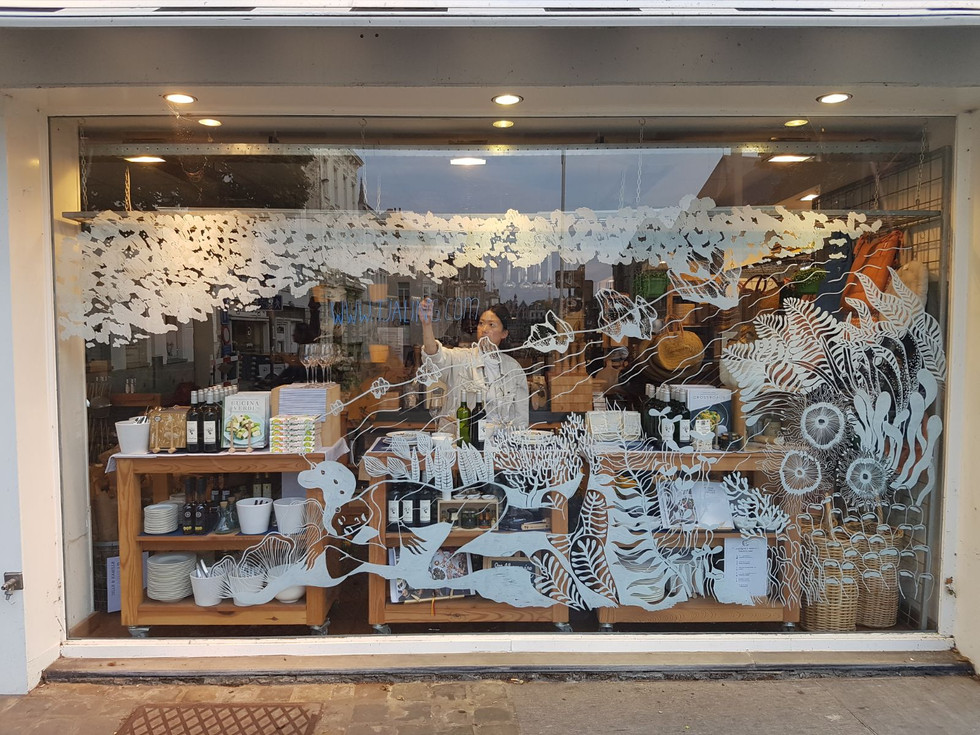Window drawing for Dille & Kamille Ghent